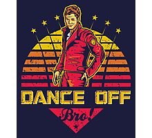 Dance Off Bro! (Distressed) Photographic Print