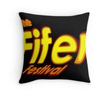 The Fifer Festival (logo) Throw Pillow