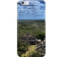 Ek' Balam - view from the temple top iPhone Case/Skin