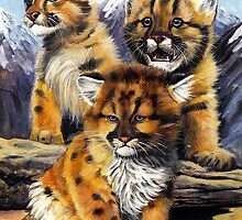 Wild cubs. by Robert David Gellion