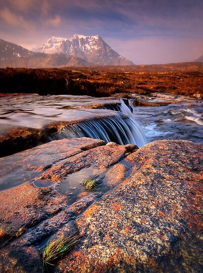 Sron na Creise from above the 'Cauldron' by David Mould