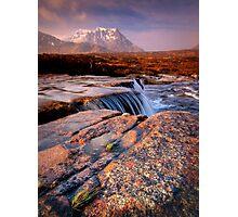 Sron na Creise from above the 'Cauldron' Photographic Print