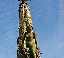 Aberystwyth War memorial by buttonpresser