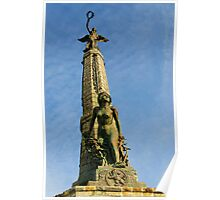 Aberystwyth War memorial Poster