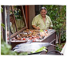 Happy Fishmonger Poster
