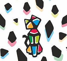 Rainbow Anigami Cat by XOOXOO
