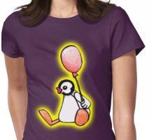 pingu's friend yellow glow Womens Fitted T-Shirt