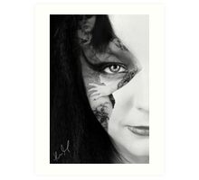 In Your face Dear... Art Print