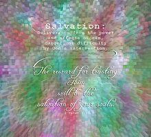 Bible 101-Salvation by vigor