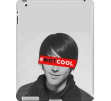 Shane Dawson's NOT COOL movie iPad Case/Skin