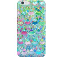 Art Deco Watercolor Patchwork Pattern 2 iPhone Case/Skin