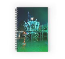Mutiny Bay - Alton Towers Resort Spiral Notebook