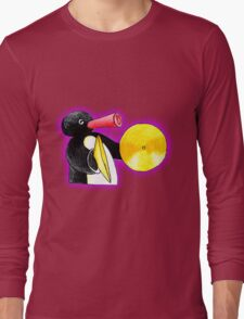 pingu and his music Long Sleeve T-Shirt