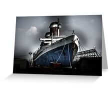 """""""SS United States"""" Greeting Card"""