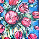 Tulips 2 by Ira Mitchell-Kirk