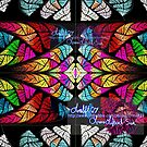 stained glass fractal by LoreLeft27