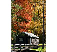 Cabins  Photographic Print