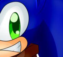 Sonic Boom Bust Sticker