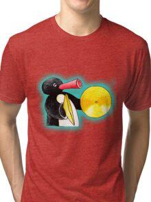 blue pingu Tri-blend T-Shirt