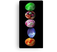 colorfull eggs Canvas Print