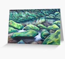 Routeburn River Greeting Card