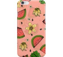 Summer Fruit Pattern Design iPhone Case/Skin