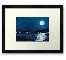 The Bay Framed Print