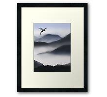 Misty Dragon Framed Print