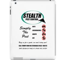 Saxondale - Stealth Pest Control iPad Case/Skin