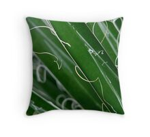 Yucca filamentosa Throw Pillow