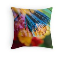 Beneath the Veil of Your Touch Throw Pillow