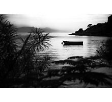 """Yellow Submarine"" at Namchengwa, Lake Malawi Photographic Print"