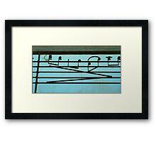Play it again Sam Framed Print