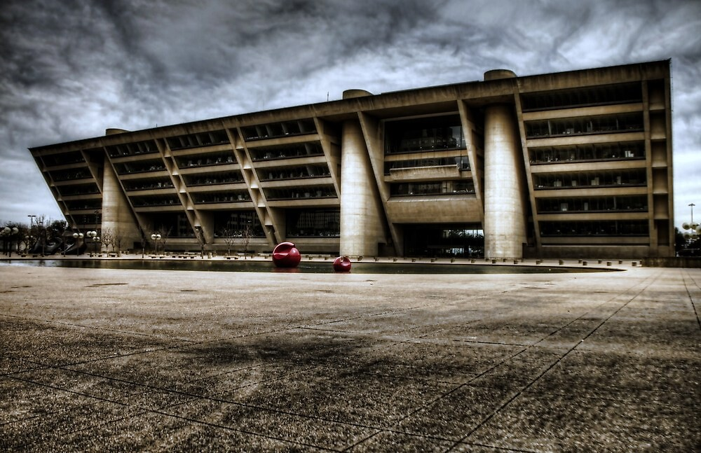Dallas City Hall by Terence Russell