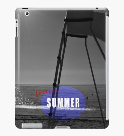 Summer forever iPad Case/Skin