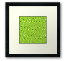 Small music notes Framed Print