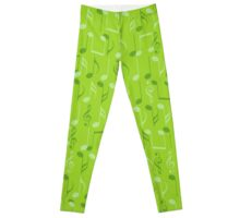 Small music notes Leggings