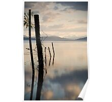 Scotland - Kinloch Rannoch Sunset Poster