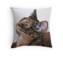 Jeweled Eyes Throw Pillow