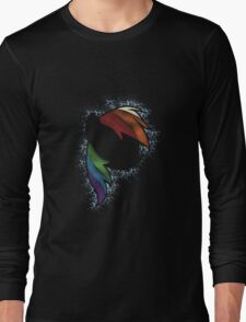 Particle Dash - Rainbow Dash (Shade) Long Sleeve T-Shirt