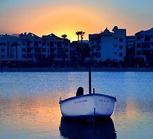 Port De Alcudia Sunset by Jim Wilson