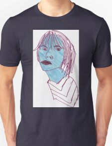 The Girl with the Stubborn Jaw T-Shirt