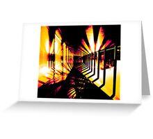 Heliotrope Greeting Card