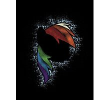 Particle Dash - Rainbow Dash (Shade) Photographic Print
