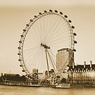 London Eye in all her Glory  by DeeCl