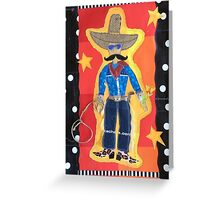 Pancho Villa Heads West Home to You Greeting Card