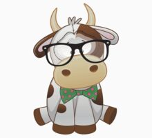 Hipster baby cow  Kids Clothes