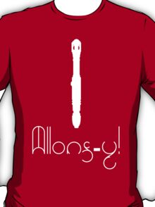 Allons-Y & Screwdriver - 10th Doctor T-Shirt
