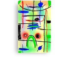 Samsung Galaxy Tab 3 sketch #27 Canvas Print