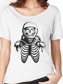 Astronaut Skeleton Women's Relaxed Fit T-Shirt
